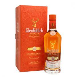21 годишно гленфидих уиски с ром финиш
