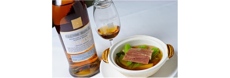 whisky for dinner