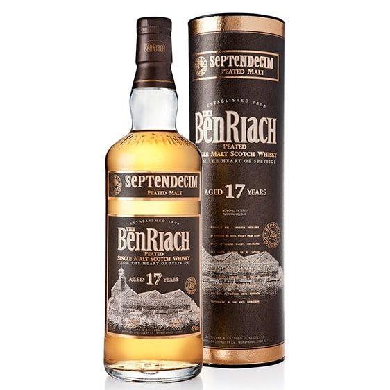 БенРиах 17 годишно сингъл малц скоч уиски Септендецим