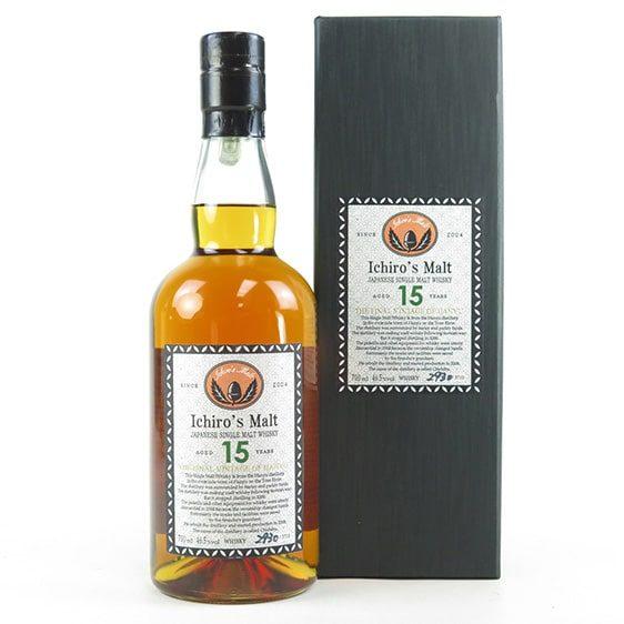 японско уиски ханио 15 годишно