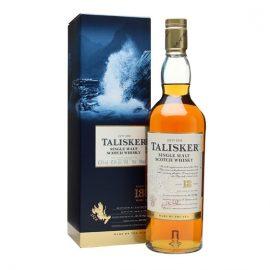 талискър 18-годишно опушено уиски