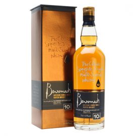 шотландско уиски бенромах 10-годишно