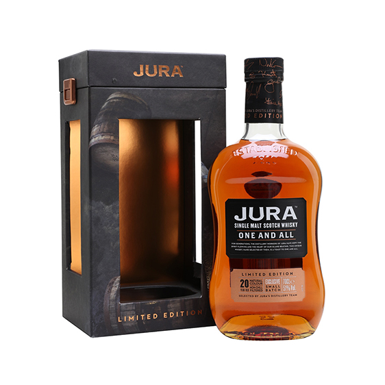шотландско уиски джура уан енд ол