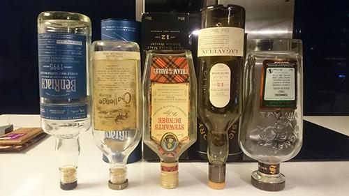 празни бутилки